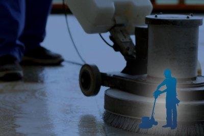 Commercial Floor Polishing