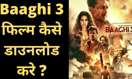 how to watch and download baaghi 3 movie online