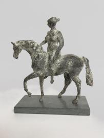Vrouw te paard