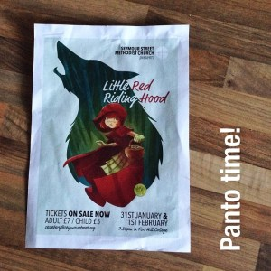 panto time little red riding hood