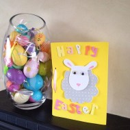 Happy Easter (card made by my son for my mum)