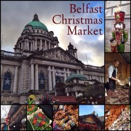 Christmas shopping and a wander through the Christmas Market at Belfast City Hall