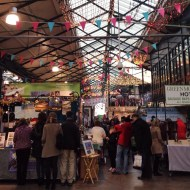 Lovely atmosphere in St George's Market, Belfast