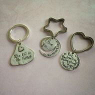 Quote keyrings from janmarydesigns.com – which quote would you choose?