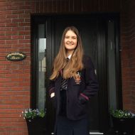 Eldest daughter's last day of school before study leave and A'levels