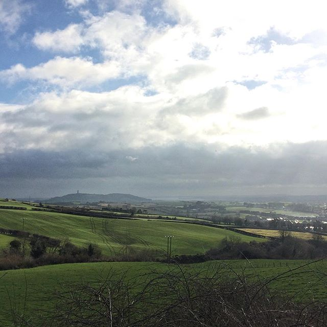 Scrabo Tower and Strangford Lough