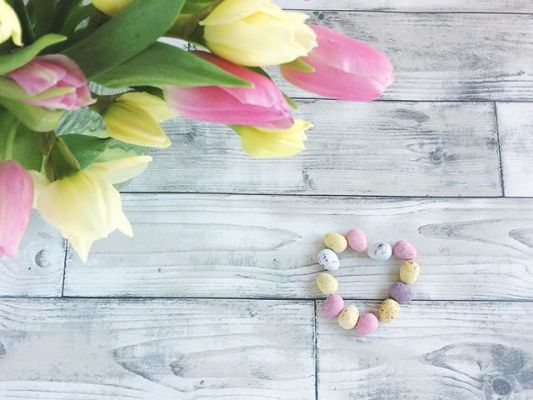 Happy Spring …. tulips,daffodils and mini eggs