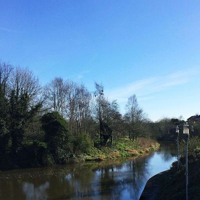 Beautiful day down by the Lagan River