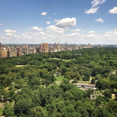 Goodbye to this view of Central Park, heading home