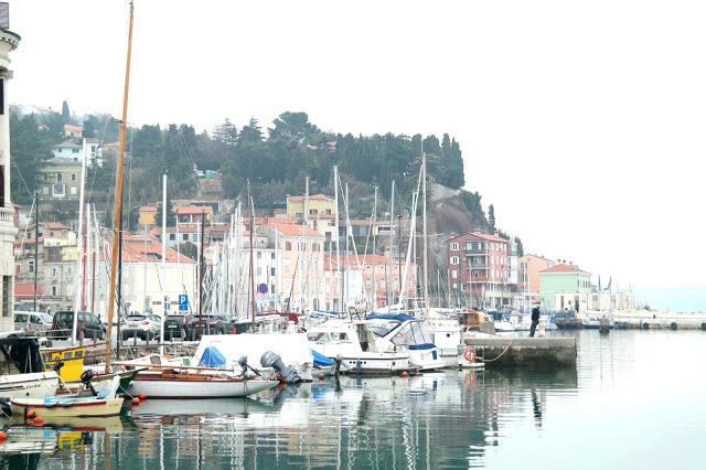 Piran Slovenië kust