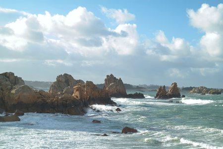 Wandern Plougrescant Bretagne