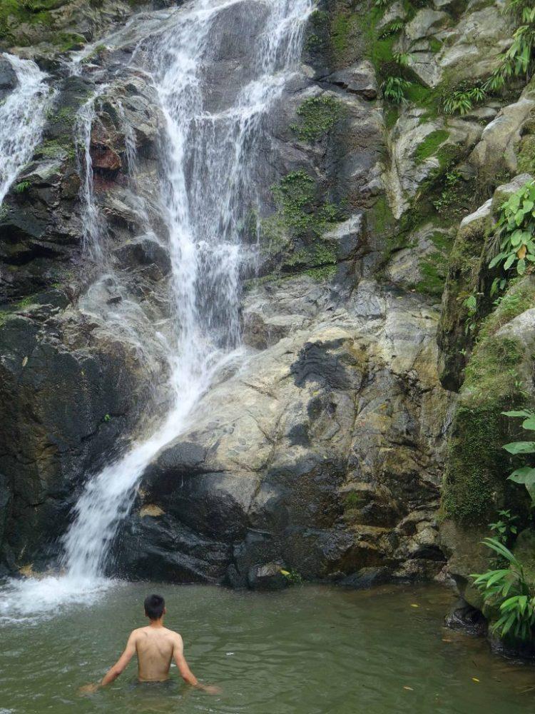 Minca Colombia watervallen