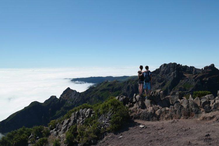 Pico Ruivo Madeira wandelen