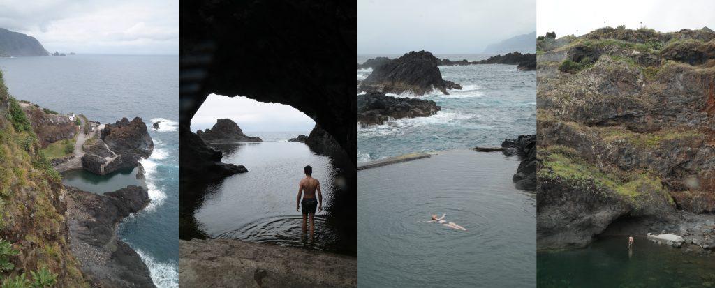 Natural pools Madeira