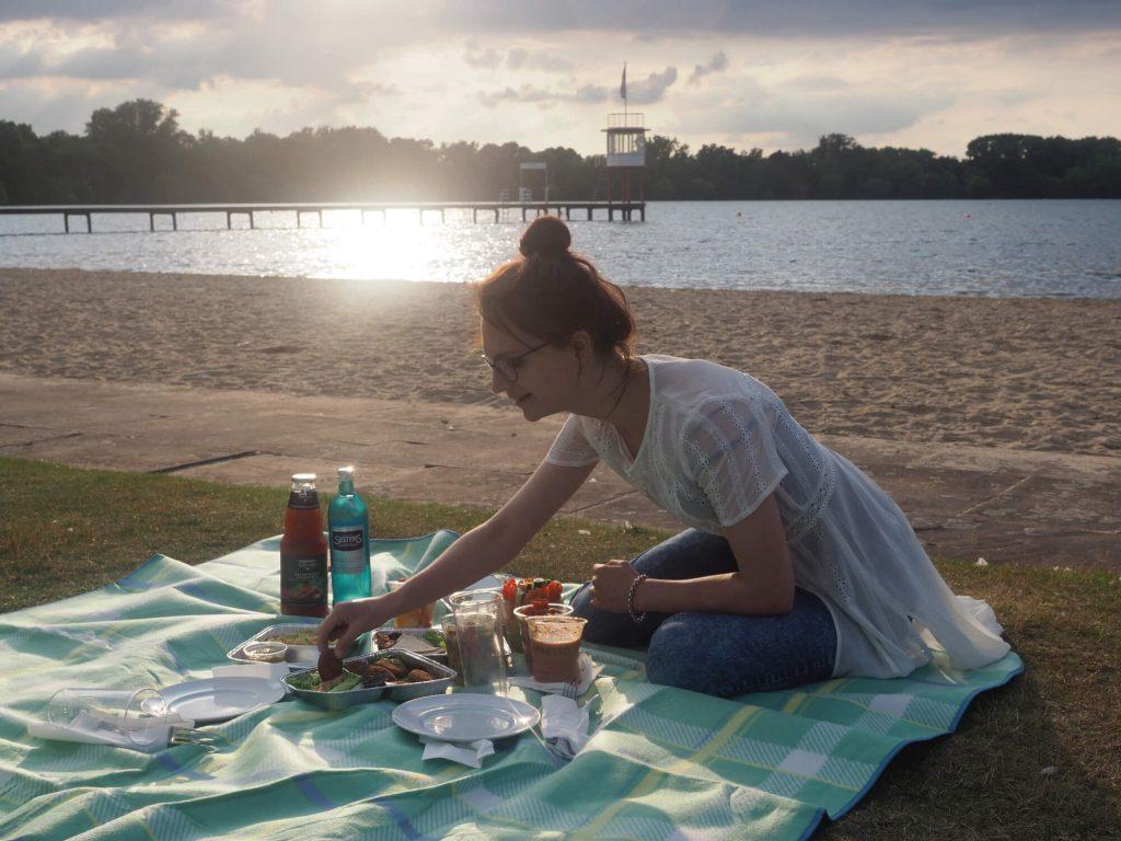Picknick Hannover Die Insel Maschsee
