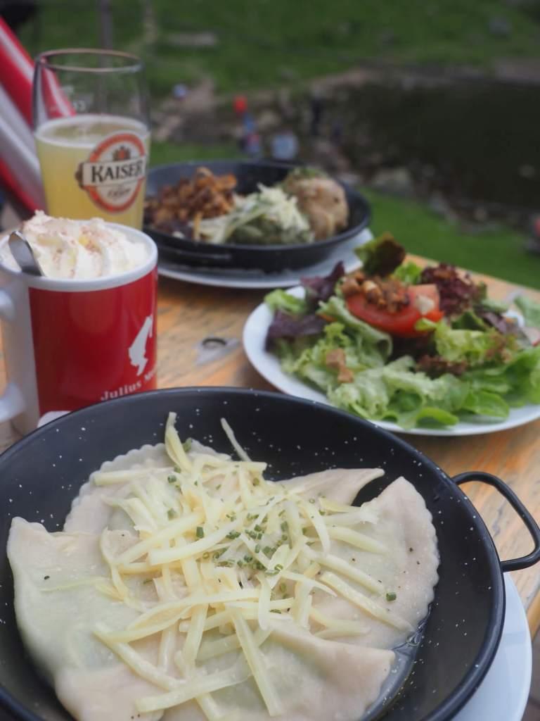 Wildseeloderhaus eten Fieberbrunn