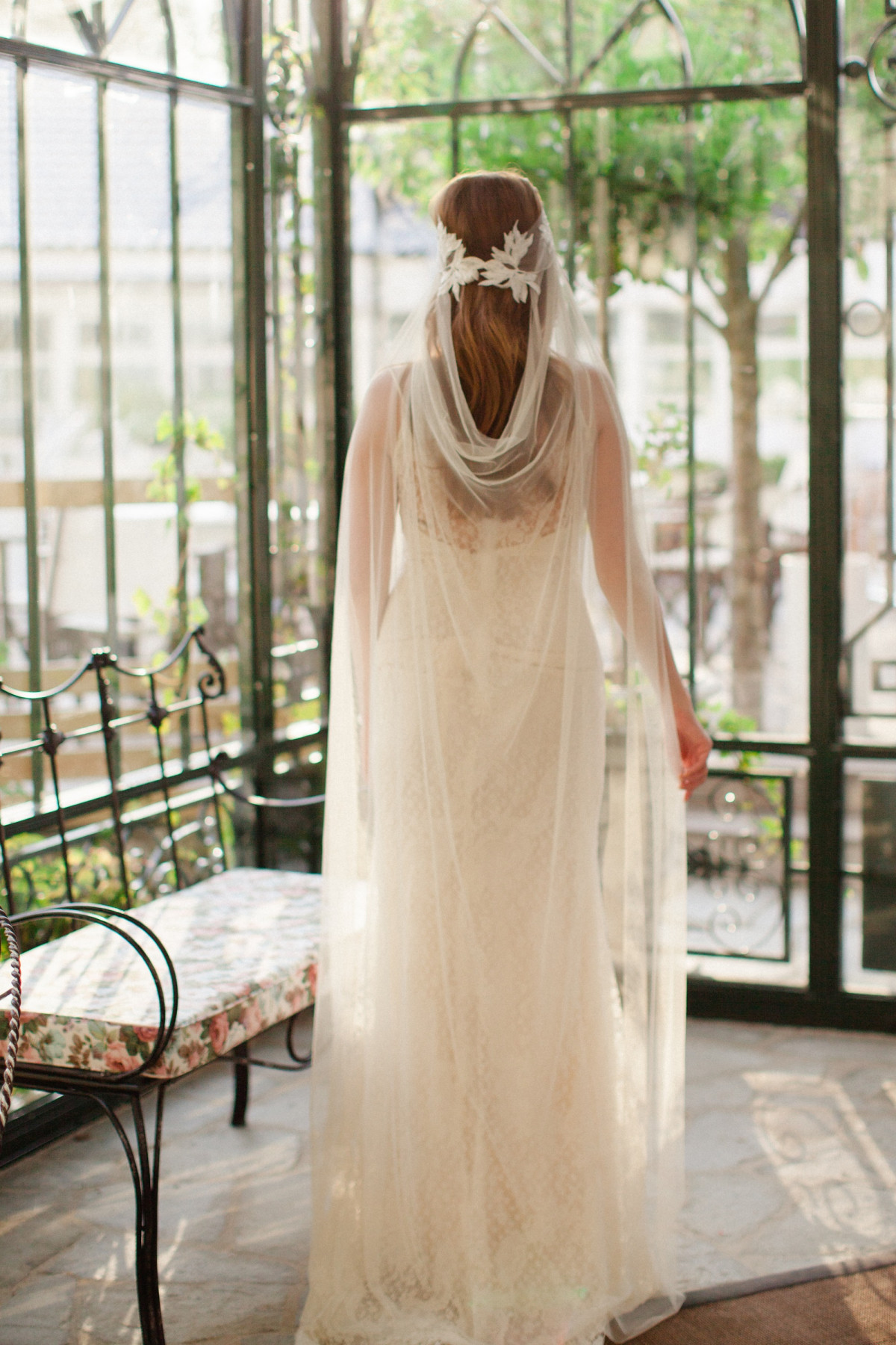 Sienna our bohemian wedding veil