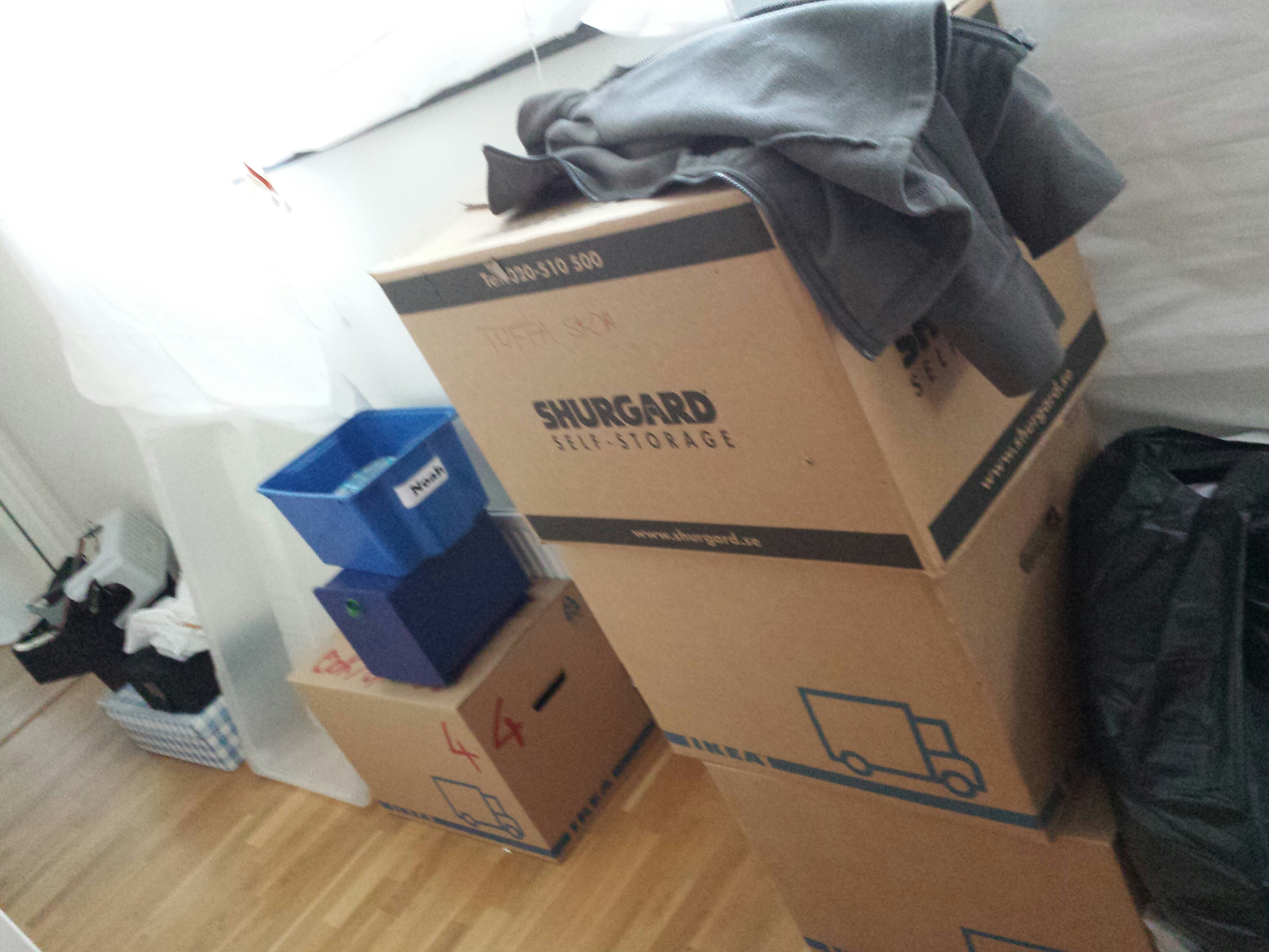 moving a wholehearted journey boxes and stuff everywhere
