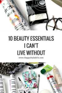 Pin now to save for later. Top 10 Beauty Essentials: Brows, dry shampoo, leave in conditioner, shower cap, mascara, and more.