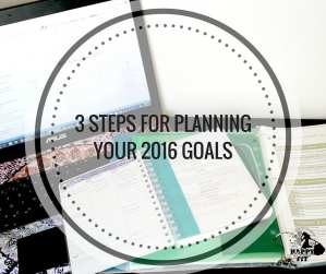 3 steps for planning your 2016 goals - happy stylish fit lifestyle fashion beauty fitness blog
