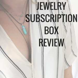 Full review new affordable jewelry subscription box service. Cute boho jewelry delivered to your door every month.