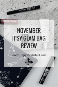 Find out what's in a glam bag with this November Ipsy Review.