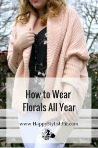 How to wear florals all year.