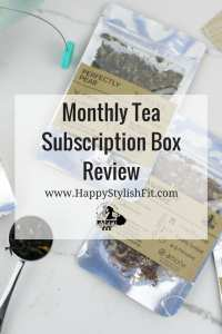 Amoda Tea subscription box review featuring this canadian subscription service that delivers 4 unique teas to your door every month.