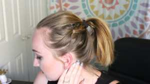 3 braided ponytails tutorial that range from beginner to intermediate. These braided ponytail styles are perfect for slicking your hair back for summer.