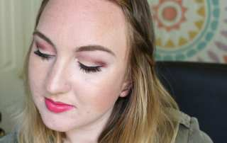Check out how to do this cute makeup look with this summer makeup tutorial using primarily cruelty free and vegan makeup products.