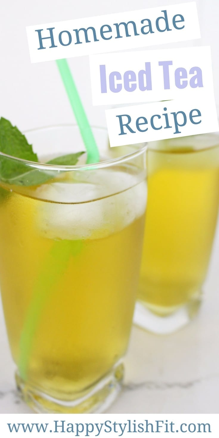 Tired of your homemade iced tea turning out too bitter, not sweet enough, or just not flavourful enough? Try my full proof way of making the perfect glass of homemade iced tea. Bonus peppermint simple syrup recipe!