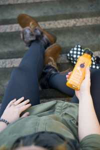 Make sure to pack some snacks with you. Check out these and 6 other tips for eating healthy snacks on the go.