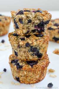 5 Healthy muffin recipes that are great for breakfast or snacks.