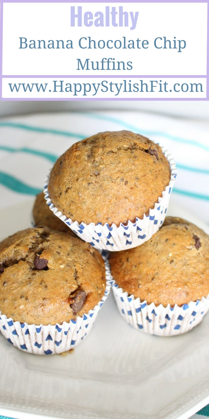 A healthy banana muffin recipe that is sure to please the whole family.