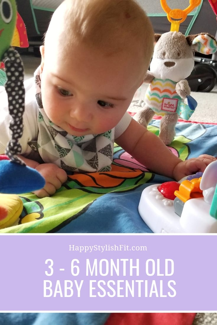 The baby essentials specifically for 3 - 6 month old babies.