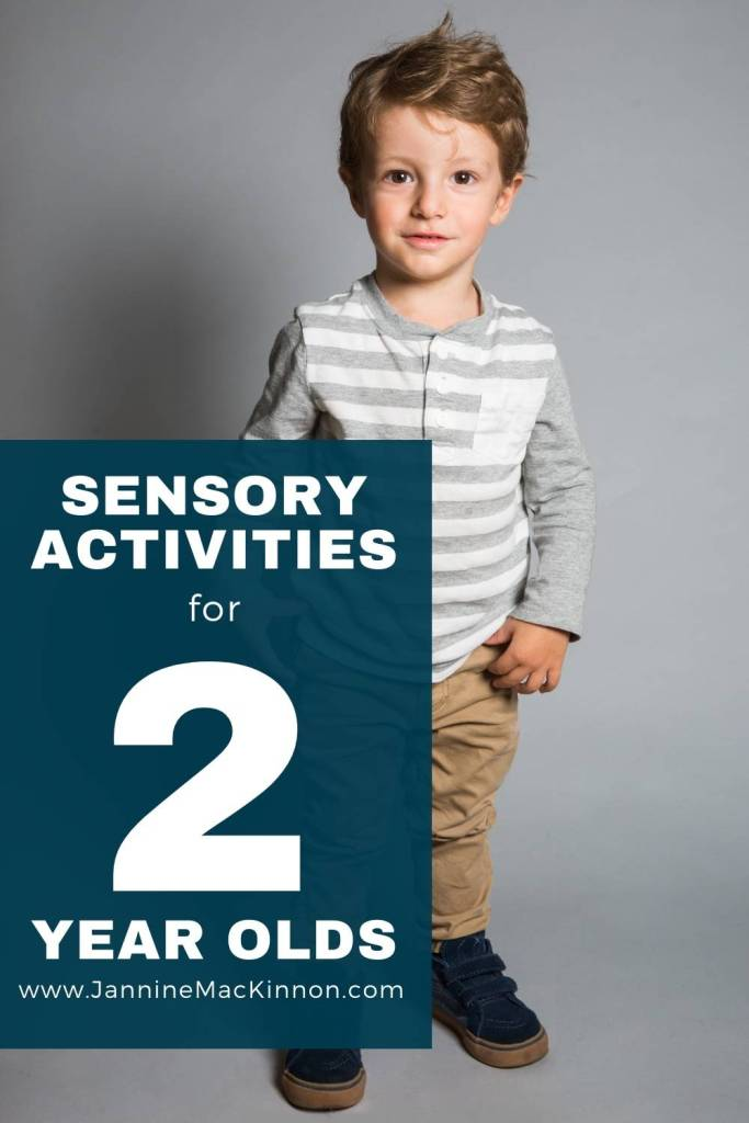 Fun sensory activities for 2 year olds to entertain and help with their development