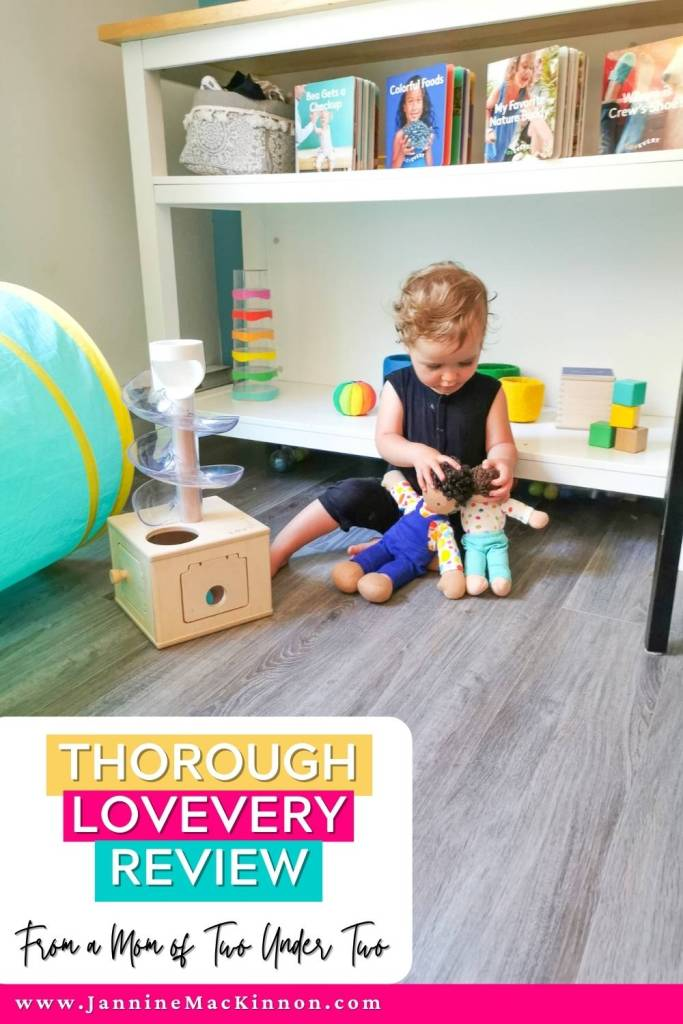 Want to make sure your child has the best chance to develop on track but not sure how? You aren't along! Lovevery takes the nerdy science and breaks it down in a practical way for busy moms. This thorough Lovevery review comes from a mom of two under two who barely has time to get everything done, but wants the best for her kids. Find out if the Lovevery Play Kits are worth it by heading to the blog | Lovevery Review | Lovevery Play Kits | Toddler Play Kits |