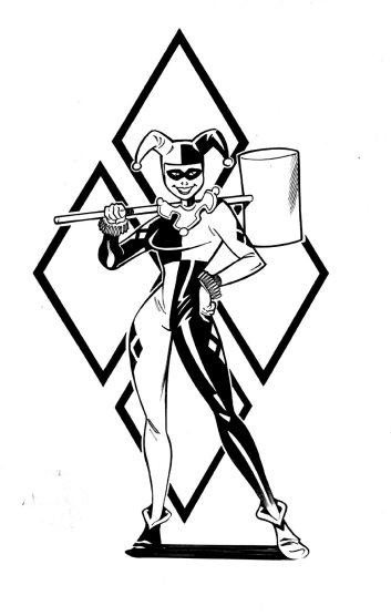 Commission Harley Quinn