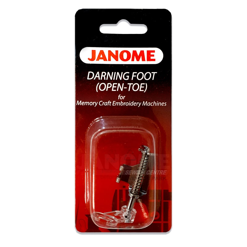 Janome Open Toe Darning Foot (High Shank