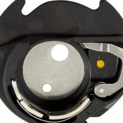 Janome Yellow Dot Bobbin Case (with Thread Sensor)