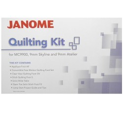 Janome 9mm Skyline Quilting Kit