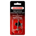 Janome Free Motion Couching Foot Set