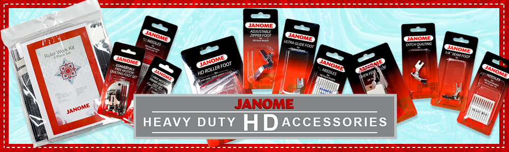 Janome HD Accessory Kit Banner