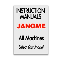 Janome Instruction Manuals