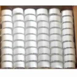 Janome 108 Pack of Pre-wound Embroidery Bobbins - White