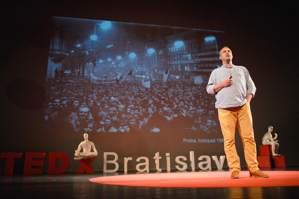 Přednáška na TedX Bratislava 2015.