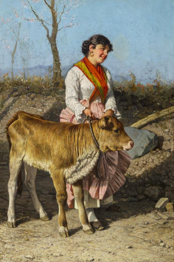 Federico Mazzotta Italian 19th Century A Very Fine