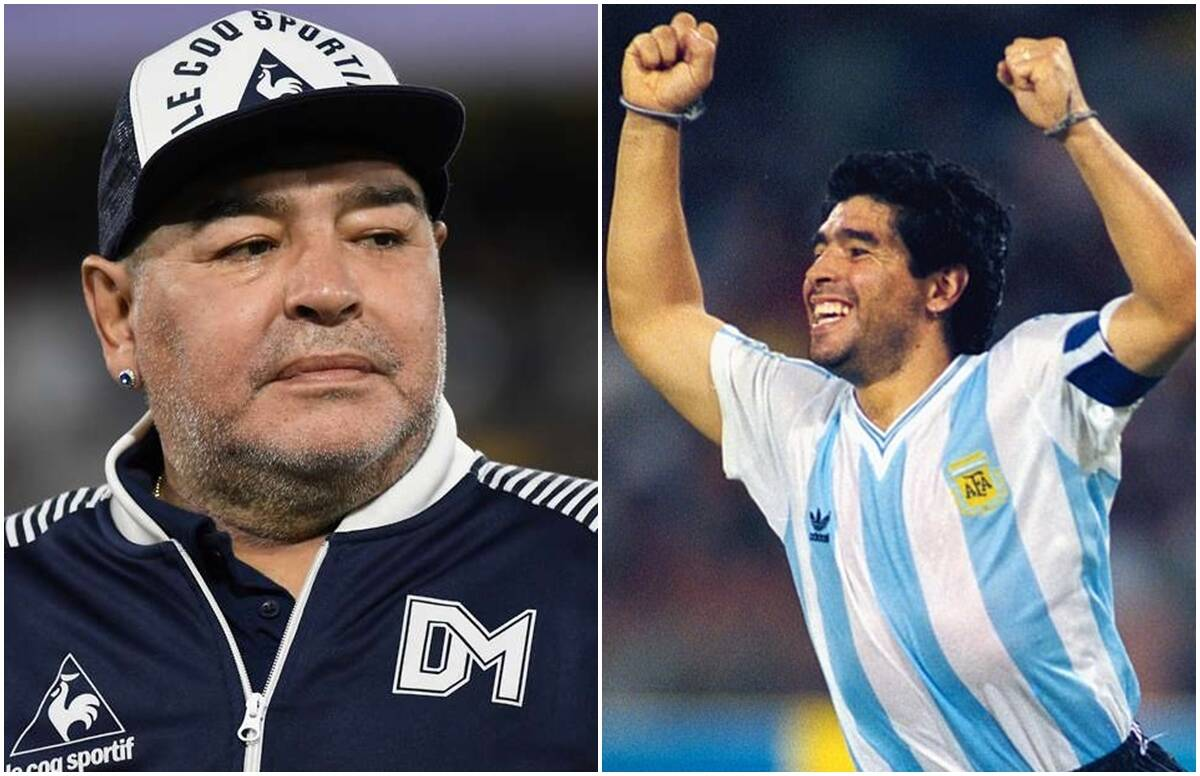 Sad: Diego Maradona, the greatest footballer, died, under his captaincy, Argentina won the World Cup