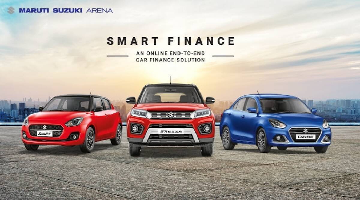 Customers are availing Maruti Suzuki Smart Finance online service in large numbers for Car Loan