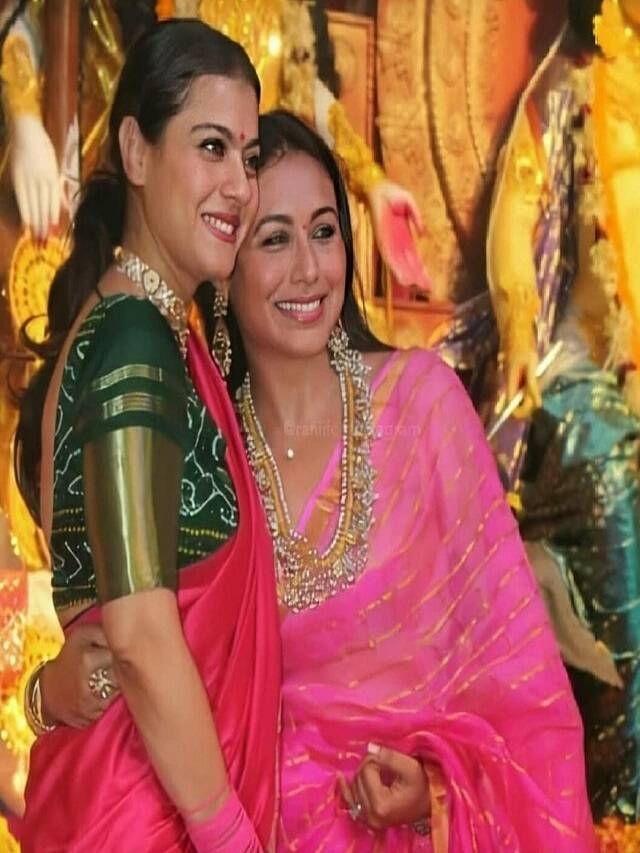 Have a look at the traditional looks of actresses on Navratri